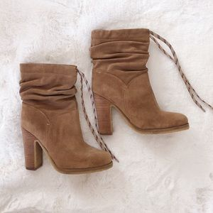 See by Chloé Jona Slouchy Suede Booties